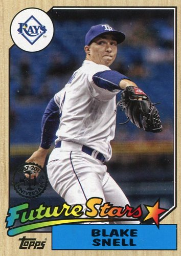 Photo of 2017 Topps '87 Topps #8772 Blake Snell