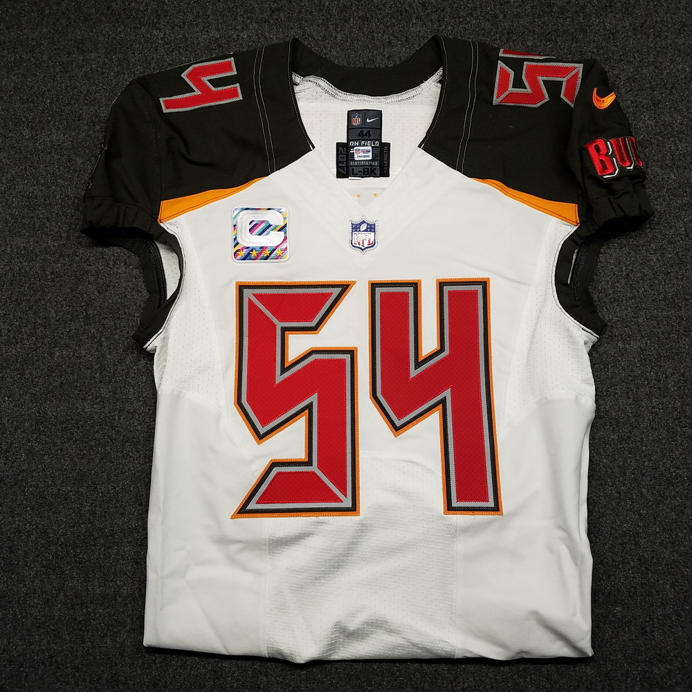 NFL Auction   CRUCIAL CATCH - BUCCANEERS LAVONTE DAVID GAME WORN ...