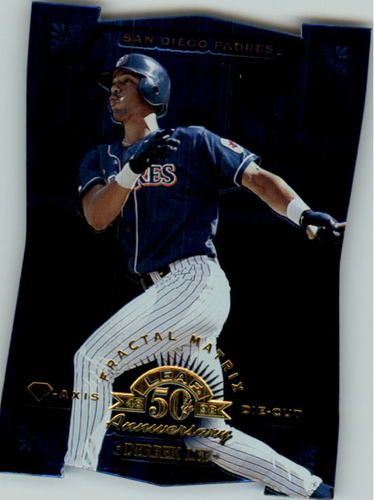 Photo of 1998 Leaf Fractal Diamond Axis #99 Derrek Lee