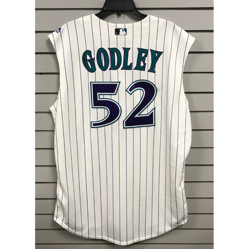 Photo of Zack Godley Team-Issued Throwback Jersey