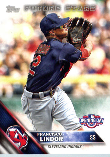 Photo of 2016 Topps Opening Day #OD110A Francisco Lindor