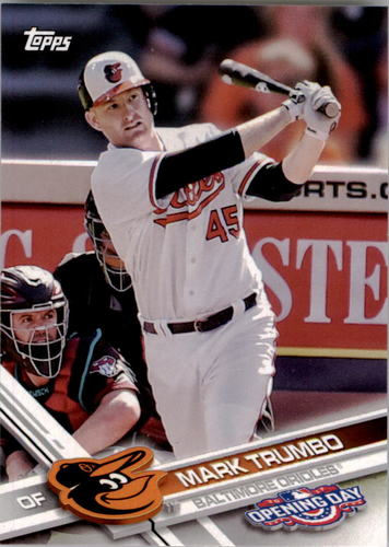 Photo of 2017 Topps Opening Day #178 Mark Trumbo