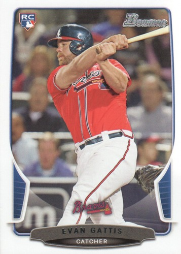 Photo of 2013 Bowman Draft #37 Evan Gattis Rookie Card