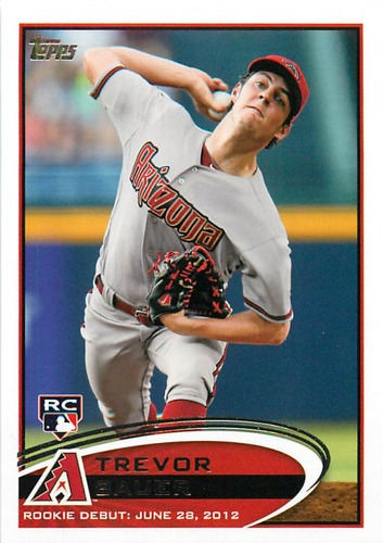 Photo of 2012 Topps Update #US212 Trevor Bauer Rookie Card