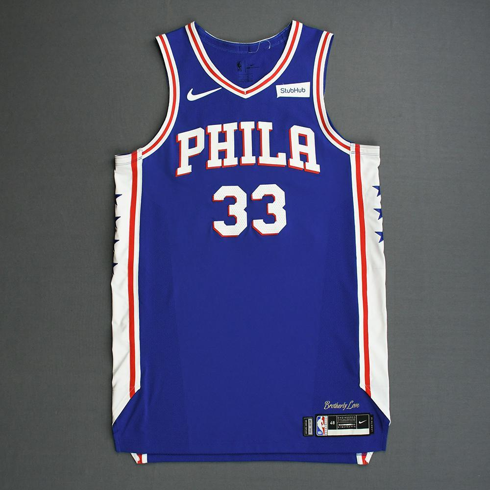 newest collection ee50e 4c625 Tobias Harris - Philadelphia 76ers - 2019 NBA Playoffs ...