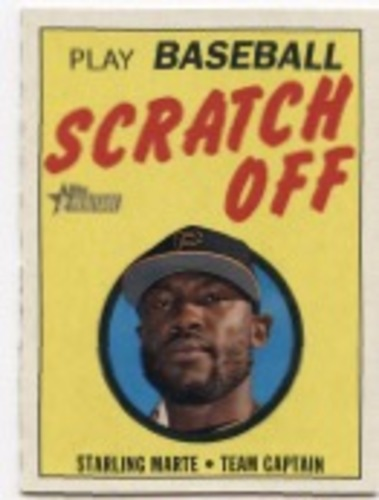 Photo of 2019 Topps Heritage '70 Topps Scratch Offs #20 Starling Marte