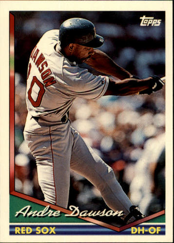 Photo of 1994 Topps #595 Andre Dawson