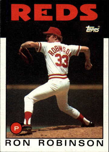 Photo of 1986 Topps #442 Ron Robinson