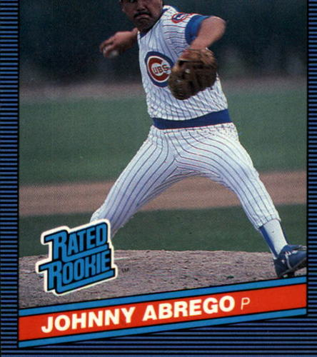 Photo of 1986 Donruss #32 Johnny Abrego RC