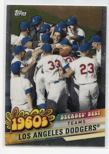 Photo of 2020 Topps Decades' Best Chrome #DBC24 Los Angeles Dodgers