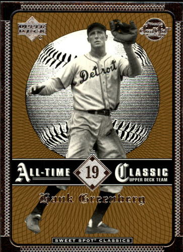 Photo of 2002 Sweet Spot Classics #19 Hank Greenberg