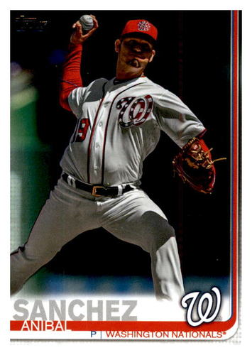 Photo of 2019 Topps Update #US176 Anibal Sanchez