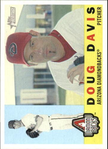 Photo of 2009 Topps Heritage #49 Doug Davis