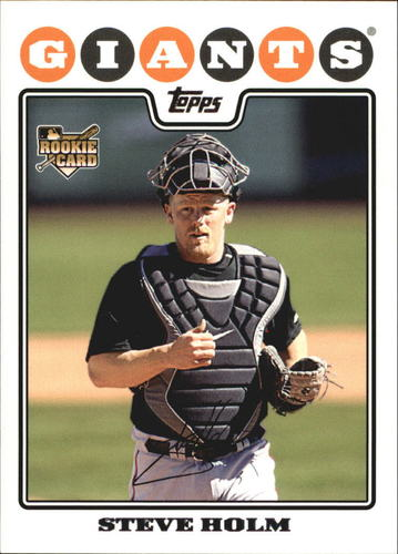 Photo of 2008 Topps #493 Steve Holm RC