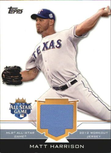 Photo of 2012 Topps Update All-Star Stitches #MAH Matt Harrison
