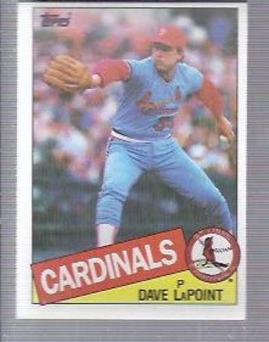 Photo of 1985 Topps #229 Dave LaPoint