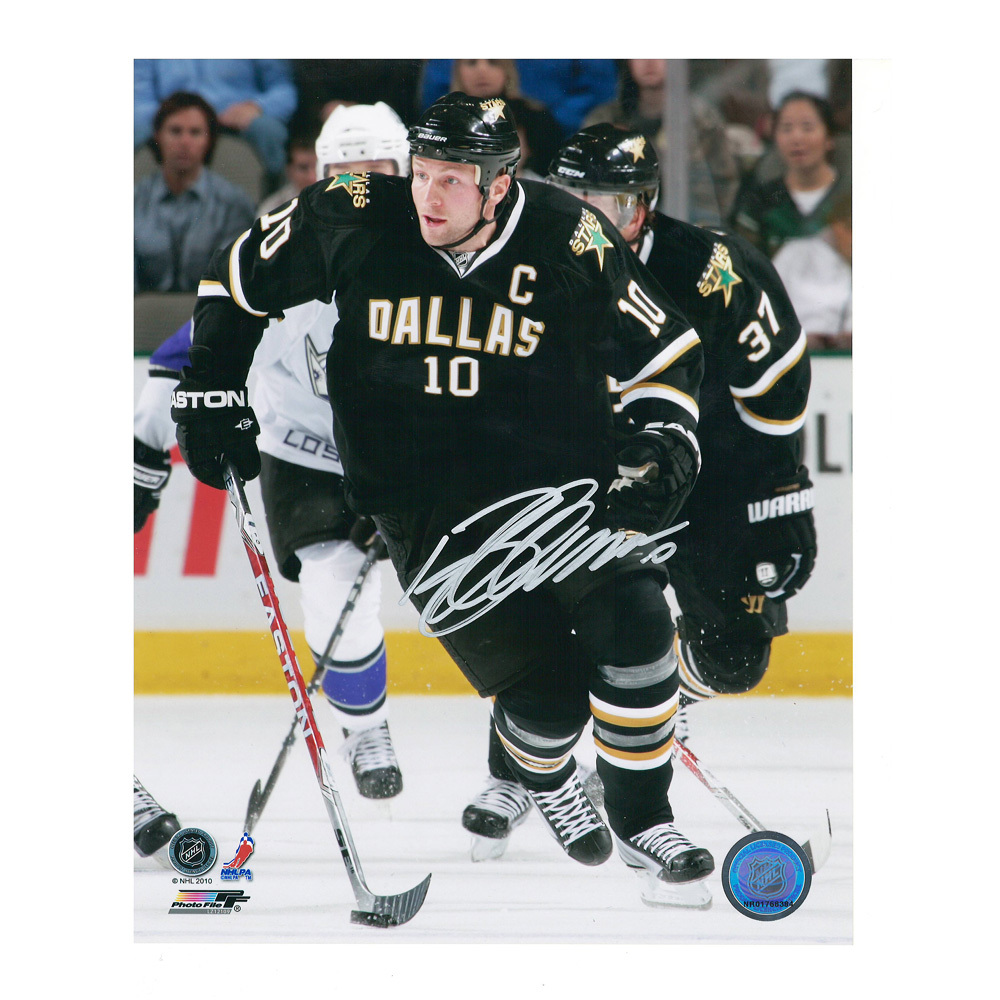 BRENDAN MORROW Signed Dallas Stars 8 X 10 Photo - 70348