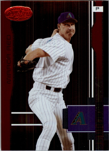 Photo of 2003 Leaf Certified Mirror Red Samples #13 Randy Johnson