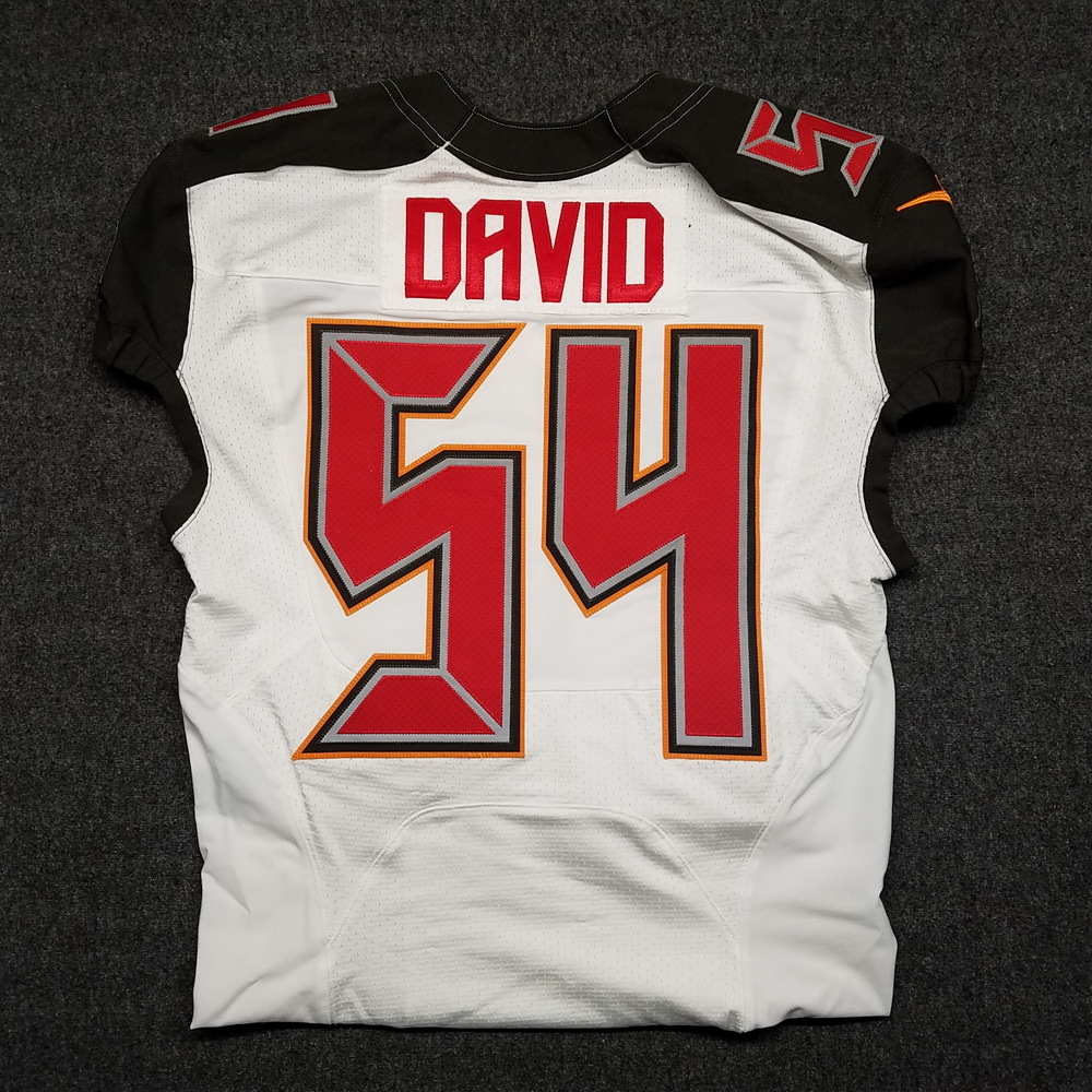 uk availability dda17 86fcf NFL Auction | CRUCIAL CATCH - BUCCANEERS LAVONTE DAVID GAME ...