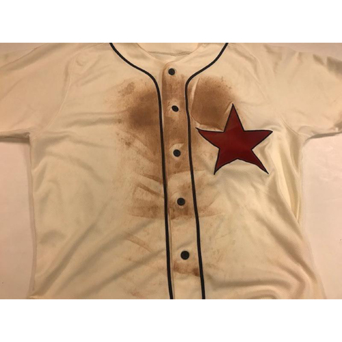 Photo of Game-Used Detroit Stars Jersey: Jose Iglesias