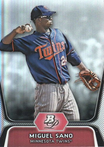 Photo of 2012 Bowman Platinum Prospects #BPP39 Miguel Sano Pre-Rookie Card