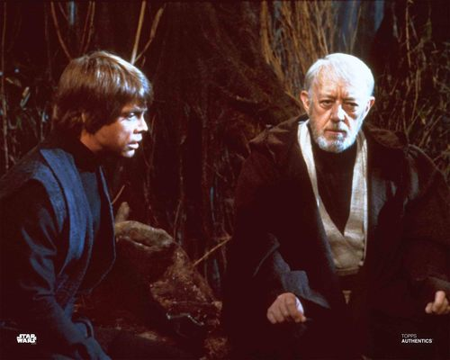 Luke Skywalker and Obi-Wan Kenobi