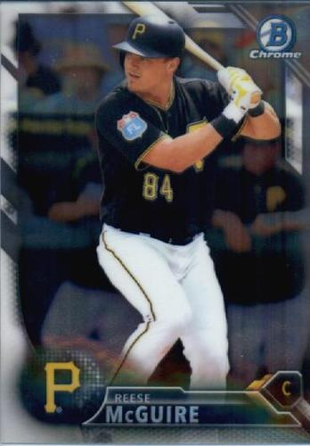 Photo of 2016 Bowman Chrome Prospects #BCP198 Reese McGuire