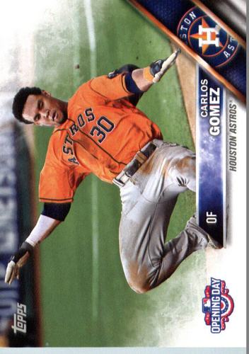 Photo of 2016 Topps Opening Day #OD115 Carlos Gomez