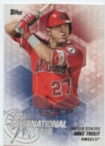 Photo of 2018 Topps Update An International Affair #IA43 Mike Trout