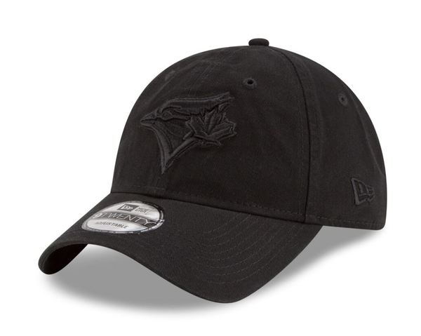 Toronto Blue Jays All Black Adjustable Cap by New Era
