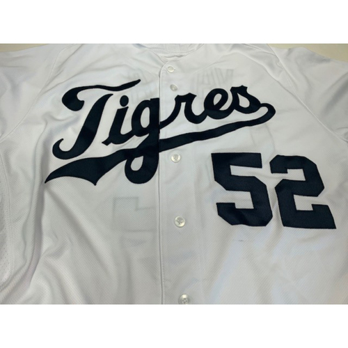 Photo of Team-Issued Fiesta Tigers Jersey: Joe Vavra