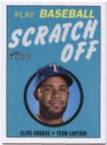 Photo of 2019 Topps Heritage '70 Topps Scratch Offs #21 Elvis Andrus
