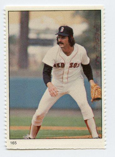 Photo of 1982 Fleer Stamps #165 Dennis Eckersley G6