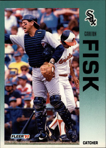 Photo of 1992 Fleer #79 Carlton Fisk