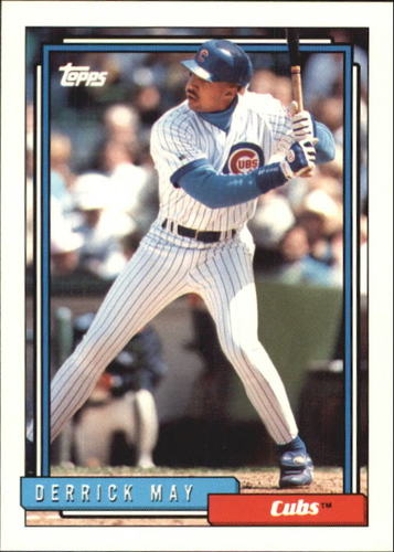 Photo of 1992 Topps Traded #68T Derrick May