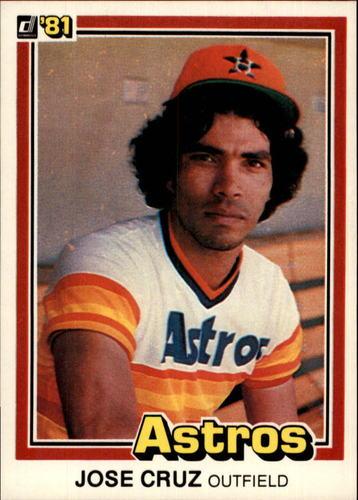 Photo of 1981 Donruss #383 Jose Cruz