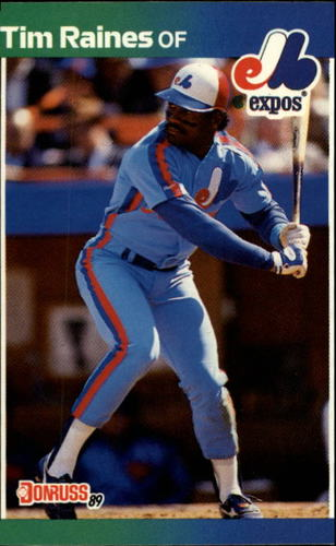 Photo of 1989 Donruss #97 Tim Raines