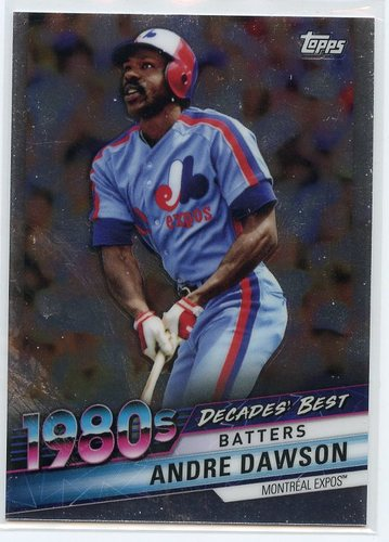 Photo of 2020 Topps Decades' Best Chrome #DBC50 Andre Dawson