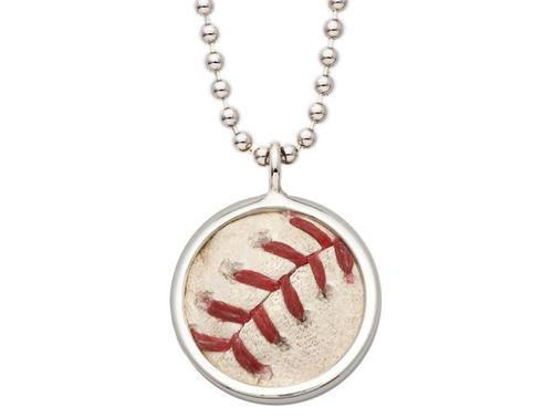 Photo of Toronto Blue Jays Game Used Baseball Pendant by Tokens & Icons