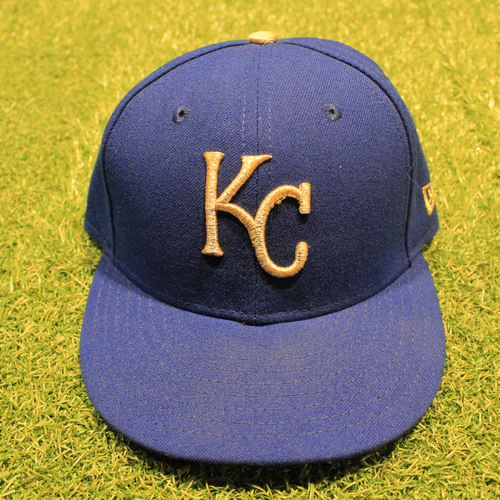 Photo of Game-Used 2020 Gold Hat: Mike Matheny #22 (Size 7 1/4 - DET @ KC 9/25/20)