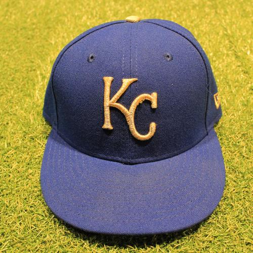 Photo of Game-Used 2020 Gold Hat: Mike Matheny #22 (Size 7 1/4 - DET @ KC 9/25/20)