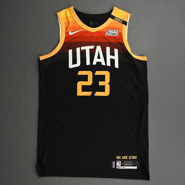 Image of Royce O'Neale - Utah Jazz - Game-Worn City Edition Jersey - 2020-21 NBA Season