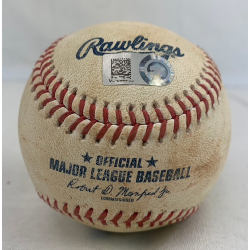Photo of Shohei Ohtani Game-Used Baseball - Double off Zack Greinke - 4/23/2021 vs. LAA