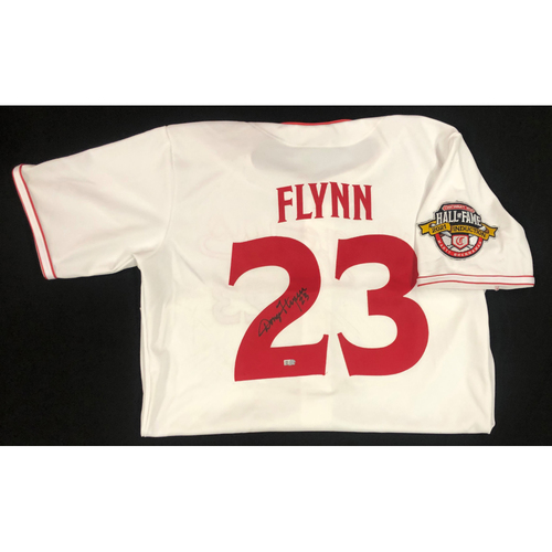 Photo of Doug Flynn - AUTOGRAPHED Game Used Jersey: Reds Hall of Fame Legends Game - Coaching Staff