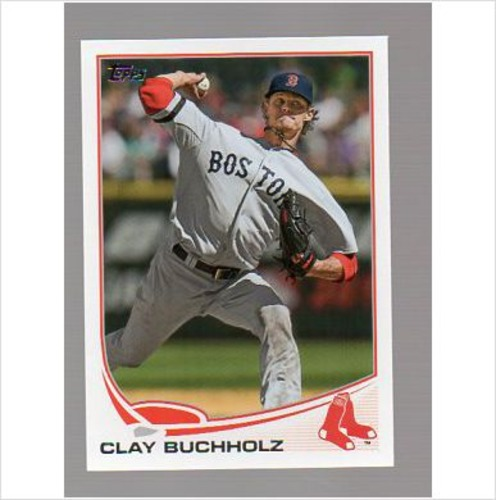Photo of 2013 Topps #503 Clay Buchholz
