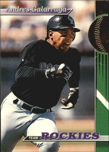 Photo of 1993 Rockies Stadium Club #11 Andres Galarraga