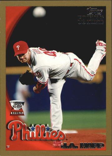 Photo of 2010 Topps Gold Border #89 J.A. Happ