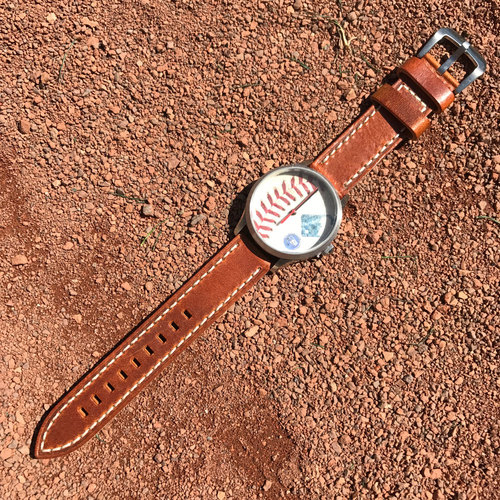 Photo of San Francisco Giants - Tokens and Icons - Game-Used Baseball Watch - Madison Bumgarner Pitch