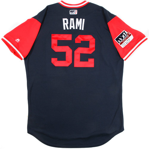 "Photo of Jose ""Rami"" Ramirez Atlanta Braves 2017 Game-Used Players Weekend Jersey"