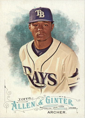 Photo of 2016 Topps Allen and Ginter #257 Chris Archer